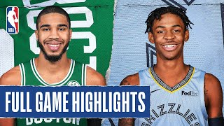 CELTICS at GRIZZLIES | FULL GAME HIGHLIGHTS | August 11, 2020