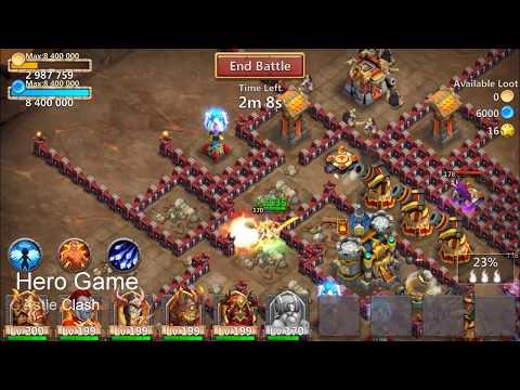 Dungeon 8 | 40 Shareds | Ordinary Hero | Engineer | Castle Clash