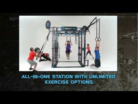 MoveStrong FTS Club Model Fitness Equipment Features