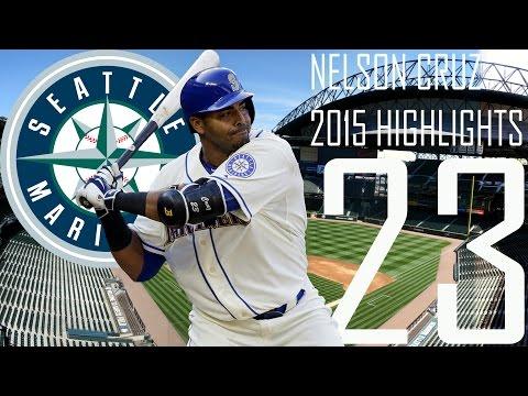 Nelson Cruz | Seattle Mariners | 2015 Highlights Mix | HD