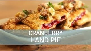 Cranberry Hand Pies   Food Deconstructed
