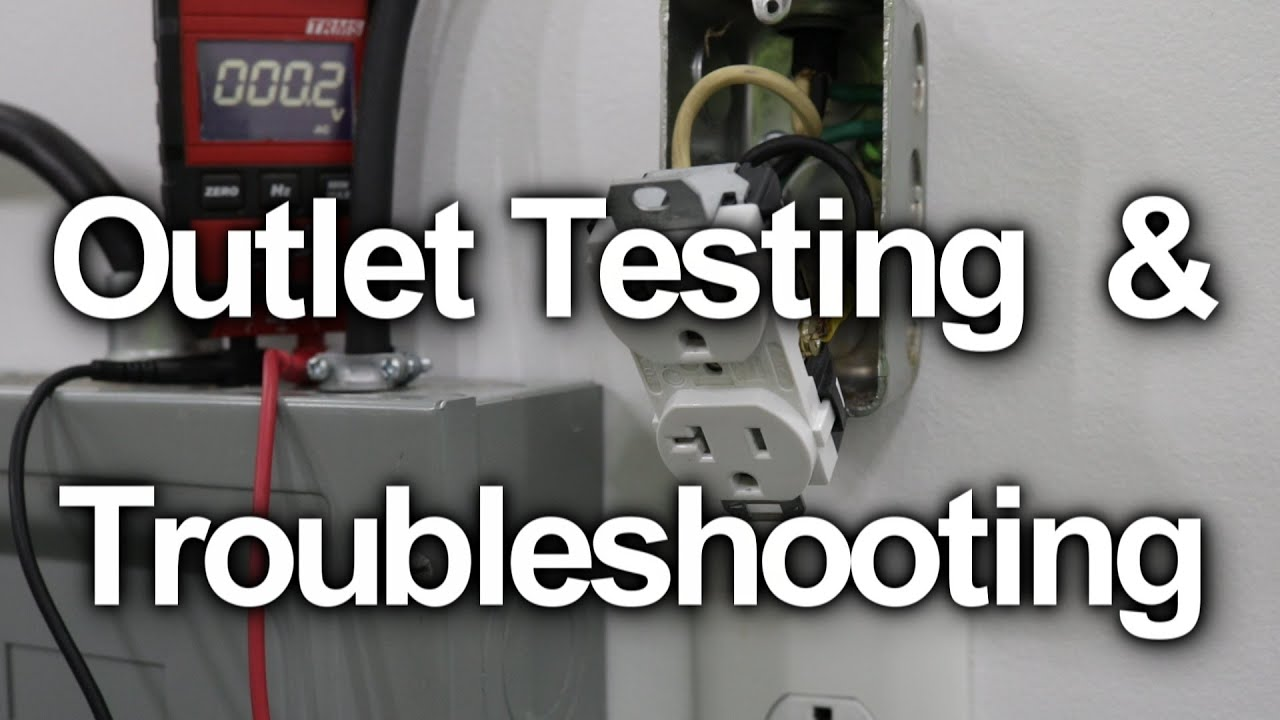 how to test a wall outlet receptacle troubleshooting [ 1280 x 720 Pixel ]