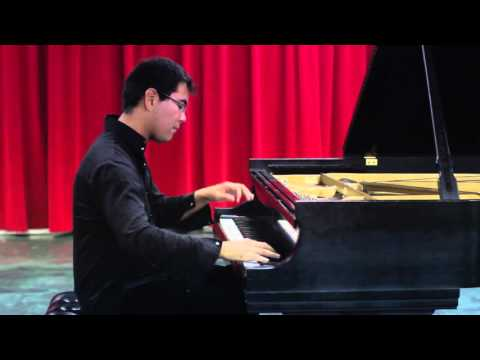 Aza Sydykov plays Liszt Etude La Campanella