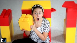 Giant LEGO Building Challenge!