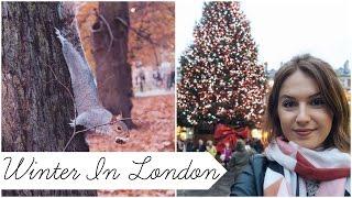 LONDON CHRISTMAS | Winter Wondeland, Covent Garden, Ice Skating