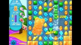 Candy Crush Soda Saga LEVEL 715 ★★★STARS( No booster )