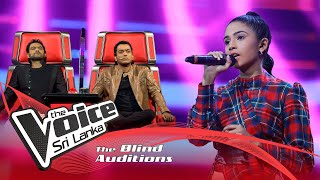 Anjalika Desinghage -Tum Bin | Blind Auditions | The Voice Sri Lanka Thumbnail