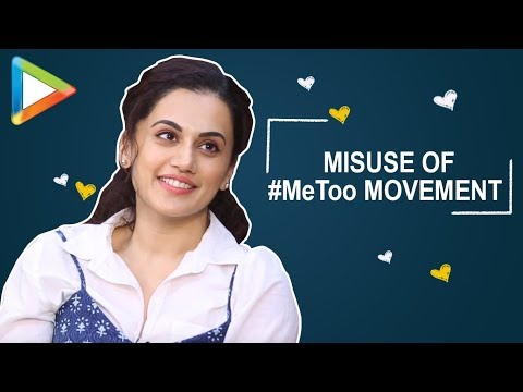 """Taapsee Pannu's REACTION on #MeToo Stories: """"Descriptions were HORRIFYING""""  