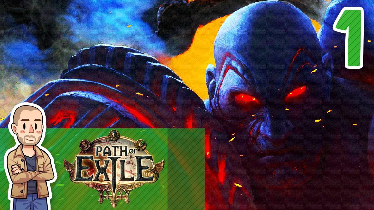 Path of Exile Gameplay Part 1 - Shipwrecked - Let's Play ...