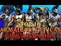 Top 10 Armaduras Épicas Del God Of War Ascension Online - Maxilunapmy video