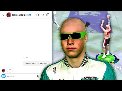 DMing 2K YouTubers to give me a jumpshot for NBA 2K20...
