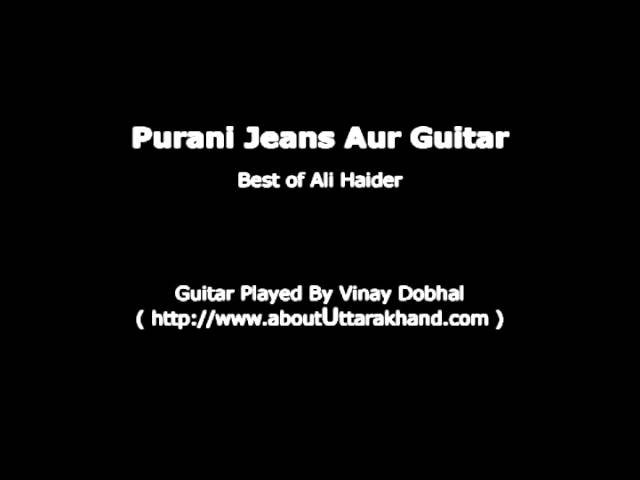 Purani Jeans Aur Guitar - Guitar Instrumental By Vinay Dobhal Travel Video