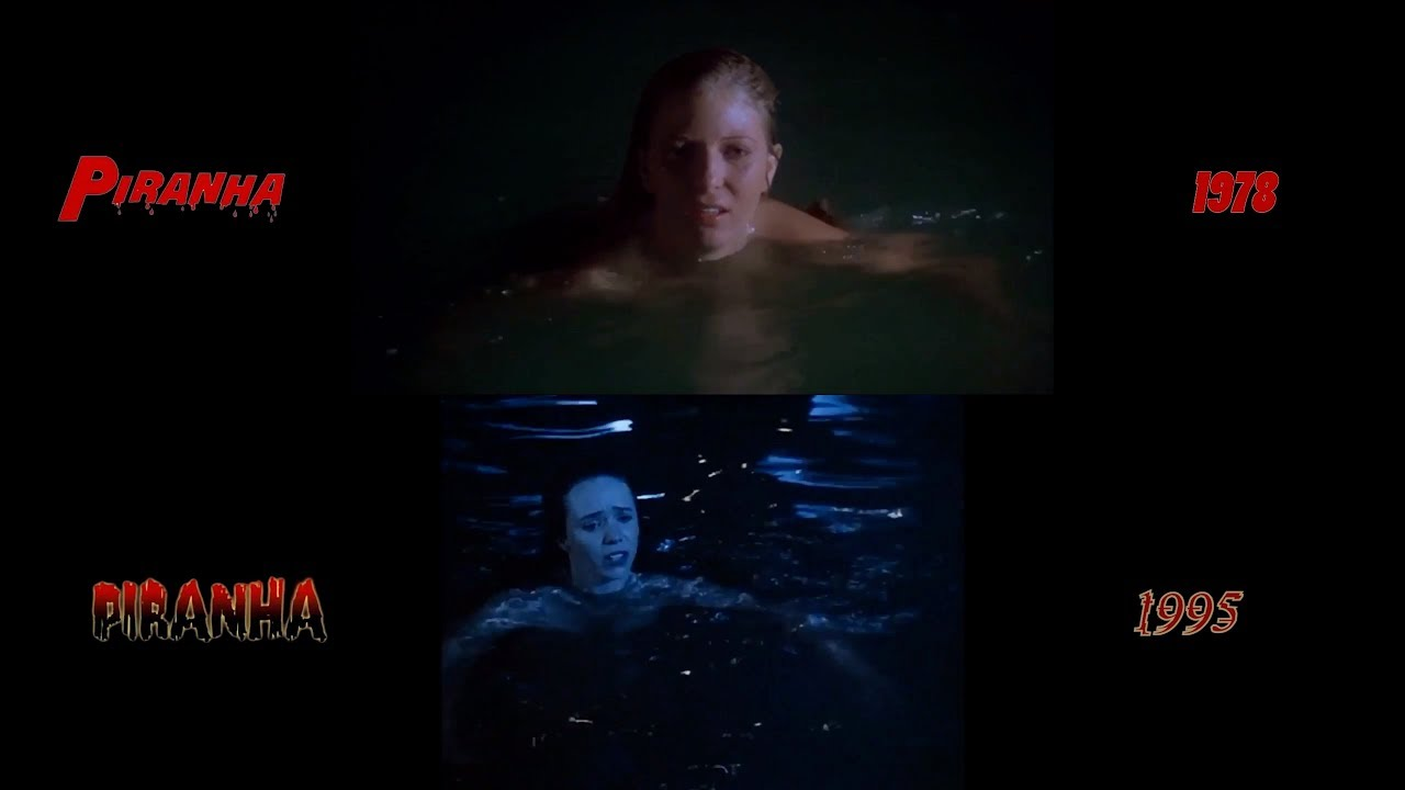 Piranha 1978 1995 Side By Side Comparison Youtube