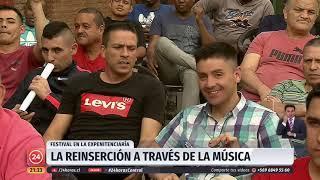 Festival de música en expenitenciaría de Santiago