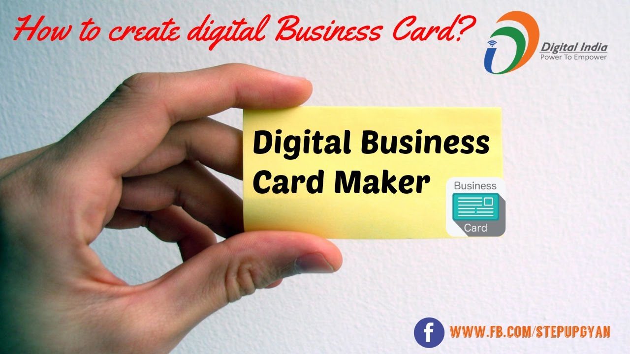 Business card visiting card design digital business cards on business card visiting card design digital business cards on mobile digital india movement colourmoves