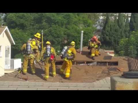LAFD Roof Ventilation Training