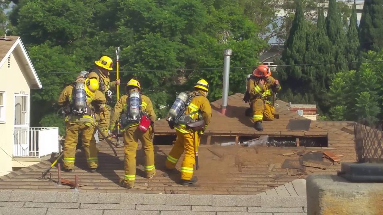 Lafd Roof Ventilation Training Youtube