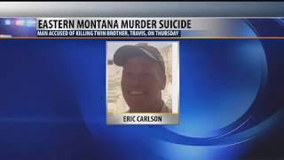 Man accused of killing his twin brother in Montana found dead