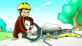 Ciekawski George 🐵Ciekawski George jeździ na rowerze. 🐵Bajki 🐵Bajki Dla Dzieci 🐵Bajki Po Polsku