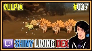 5 shiny vulpix in only 3 horde encounters   shiny living dex 037   pokemon oras