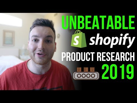 BEST Shopify Product Research 2019 - How to Find Winning Dropshipping Products