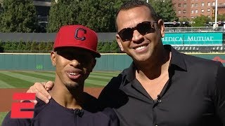 Francisco Lindor tells Alex Rodriguez that he dreams of a World Series win with the Indians | ESPN