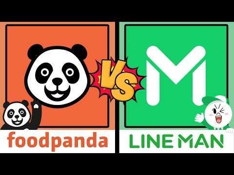 LineMan vs FoodPanda ใครจะดับหิวไวกว่ากัน?!! l VRZO