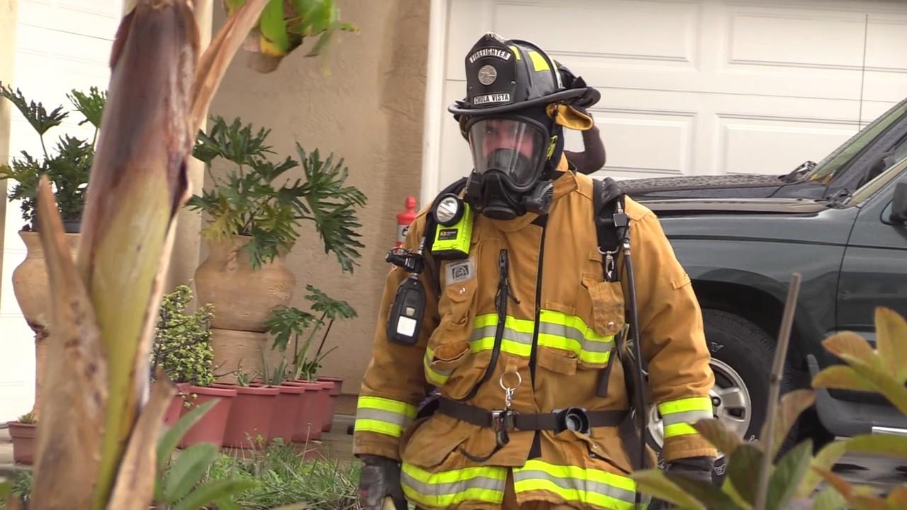 Chula Vista: House fire 01232017