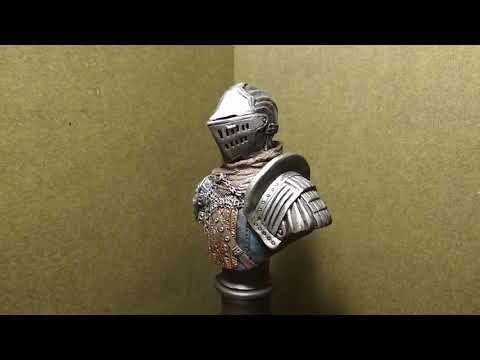 Dark Souls - Knight bust (polymer clay)