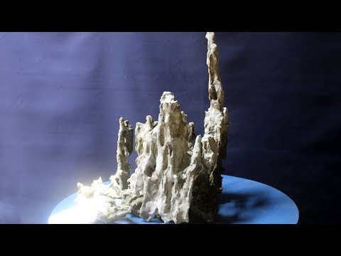 DIY Penjing Bonsai Rock, Making Rocks for landscape Bonsai, Be the Creator, Aug 2017