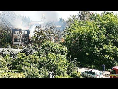 Požiar Ubytovne V Bratislave - 25.4.2019