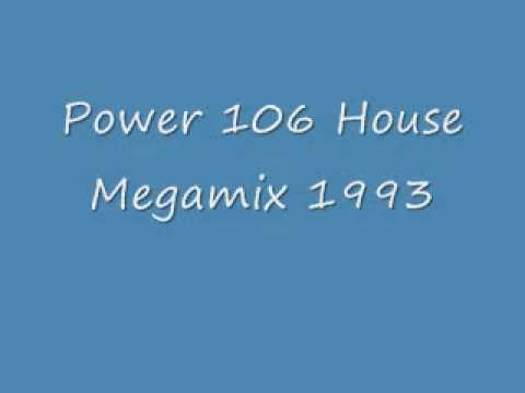 Power 106 House Megamix 1993  Richard Humpty Vission