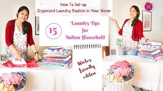 Laundry Routine in Hindi (with English Subs) / Clothes Washing Care & Laundry Tips