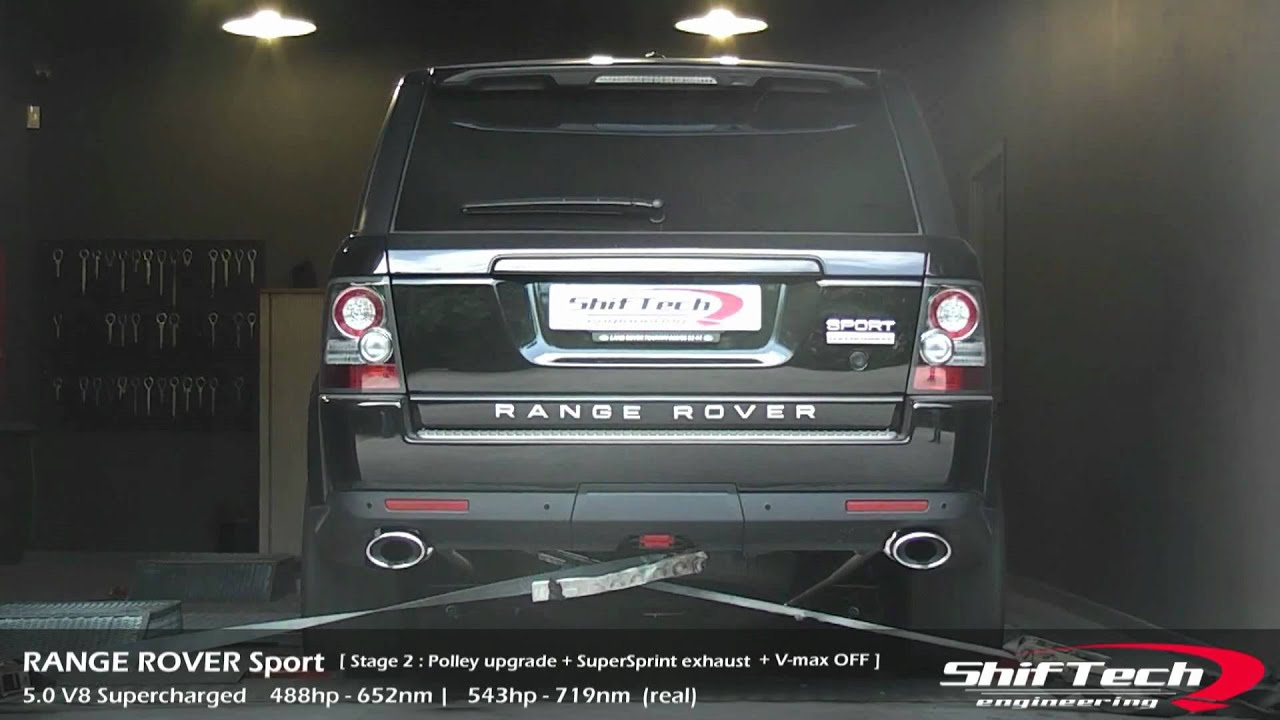 Range Rover Sport 5 0 V8 Supercharged stage 2 ShifTech