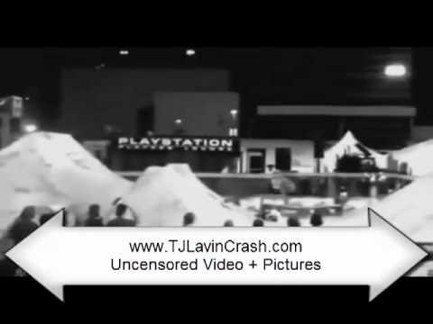 TJ Lavin Crash Video UNCENSORED! OMG!!! What REALLY happened!