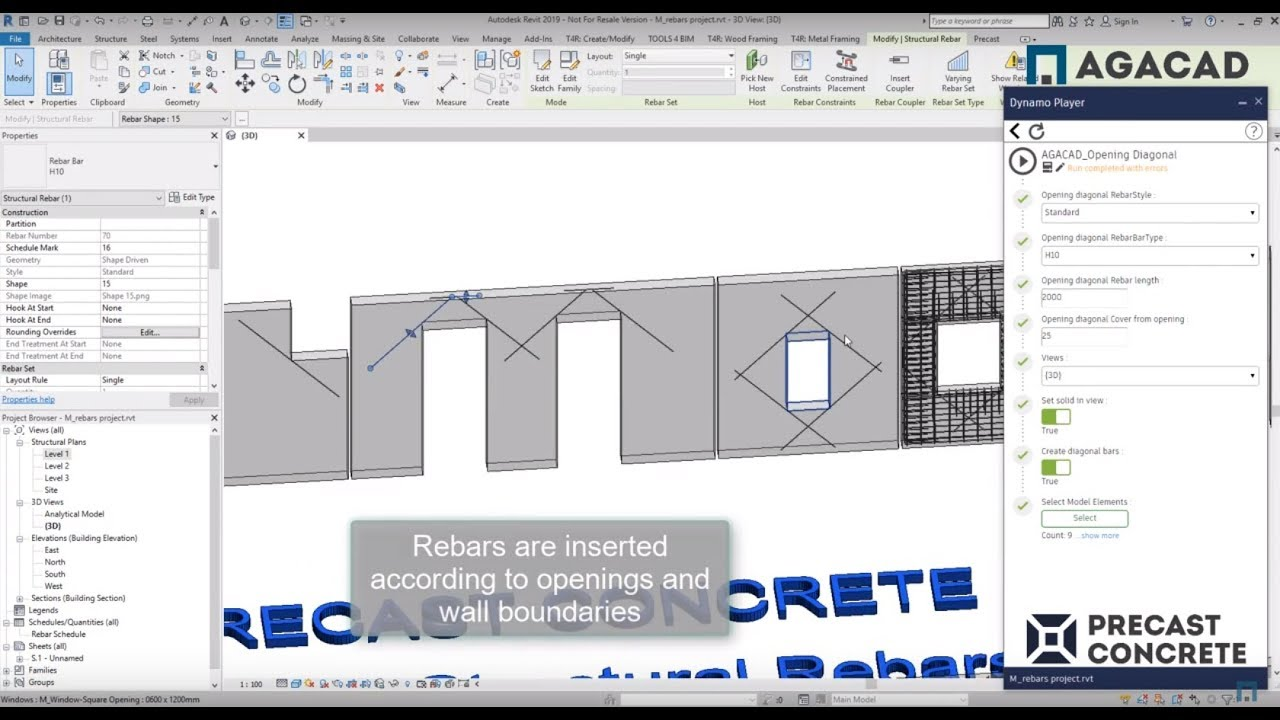 AGACAD TOOLS4BIM - BIM Software & Autodesk Revit Apps T4R (Tools 4