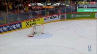 Sverige - Schweiz. VM-guld på hemmaplan 2013