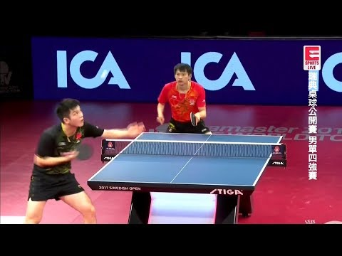 2017 Swedish Open (MS-SF) 樊振東 FAN Zhendong Vs ZHOU Yu 周雨 [Full Match/Chinese|HD1080p]