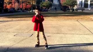 Pray Cover sing by 8 year old boy