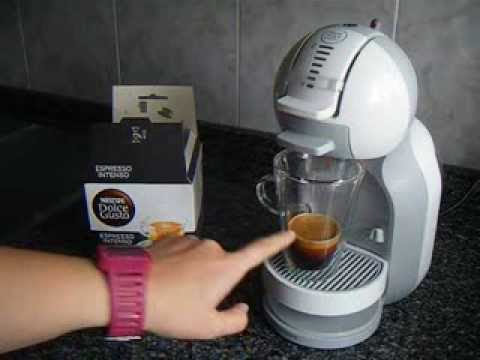 nescaf dolce gusto mini me espresso intenso youtube