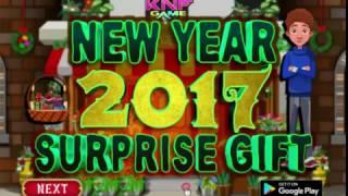 Knf New Year 2017 Suprise Gift walkthrough