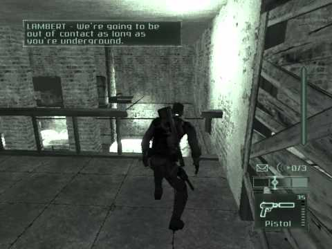 Splinter Cell Pandora Tomorrow Walkthrough Mission 5 Kundang Camp,Indonesia