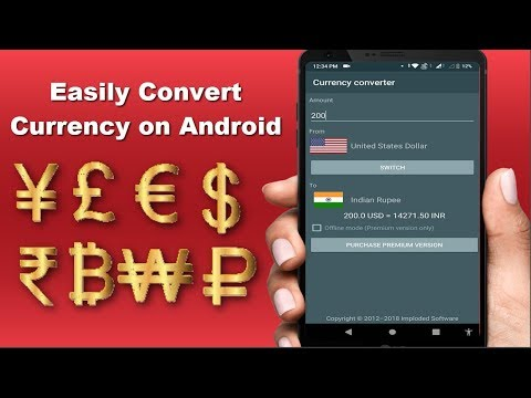 How To Convert Currency | Best Currency Converter App For Android