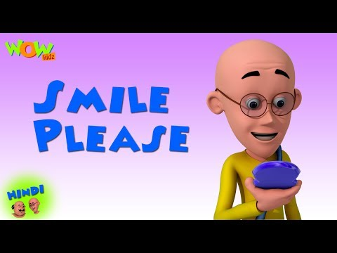 Smile Please  - Motu Patlu in Hindi - 3D...