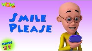 Smile Please  - Motu Patlu in Hindi - 3D Animation Cartoon for Kids - As on Nickelodeon