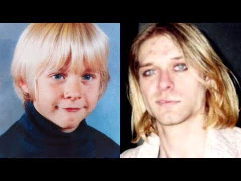 Life And Death Of Kurt Cobain (Nirvana) - From 1 To 27 Years Old
