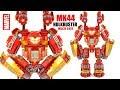 Hulkbuster Iron Man Mark 44 Mechanical Suit Extra Heavy-Duty Modular Armor w/ Tony Stark