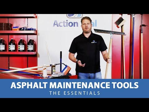 Asphalt Maintenance Tools - The Essentials
