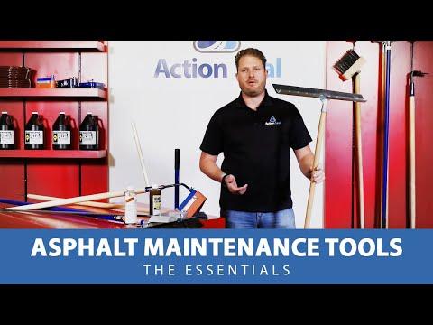 Asphalt Maintenance Tools - The Essentials | Asphalt Tools & Supplies