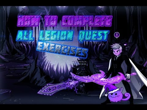 how to start legion quests aqw